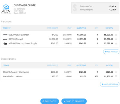 Impartner PRM�s Summer �17 release features industry�s first price quote functionality for the channel. New quoting tool extends native Salesforce quoting capabilities to partners, speeding deal closure.