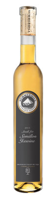 The 100 point 'Small Lot' Semillon Icewine from Summerhill Pyramid Winery. (CNW Group/Summerhill Pyramid Winery)