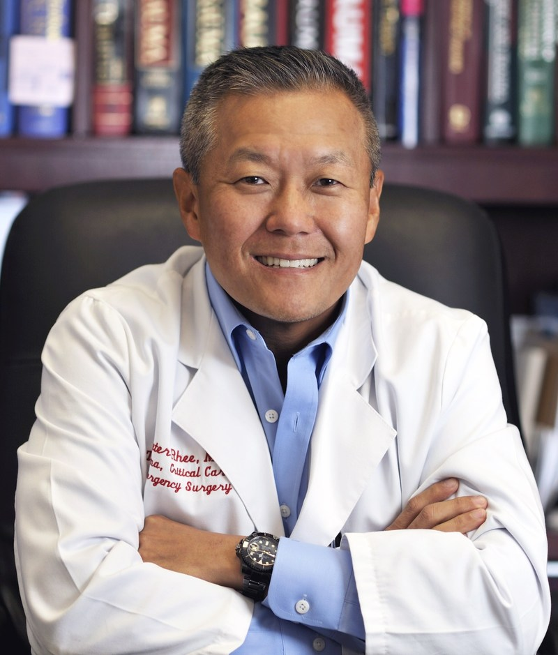 Dr. Peter Rhee, Chief of Acute Care Surgery and Medical Director for Grady's Marcus Trauma Center