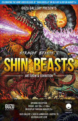 Strange Beasts V: Shin Beasts Event Key Art