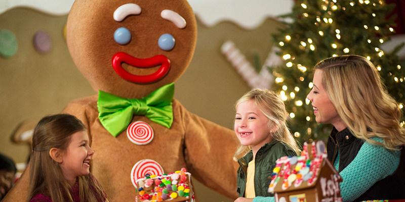 Gingerbread Decorating Corner at Gaylord Hotels