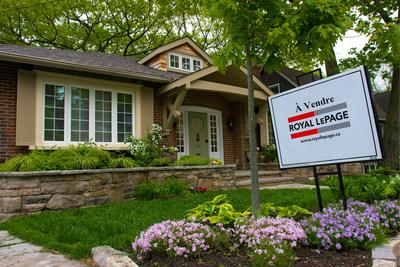 Le marché immobilier résidentiel canadien prend un tournant vers la modération des prix au second trimestre de 2017 (Groupe CNW/Services immobiliers Royal LePage)