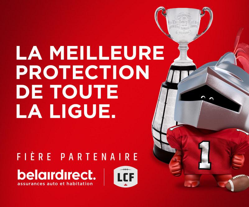 LA MEILLEURE PROTECTION DE TOUTE LA LIGUE. (Groupe CNW/belairdirect)