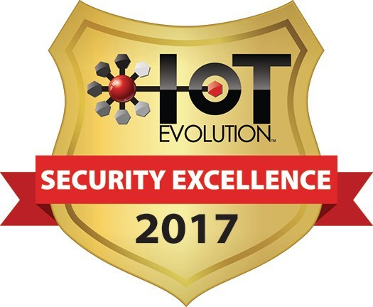 IoT Evolution Magazine 2017 Security Excellence Award