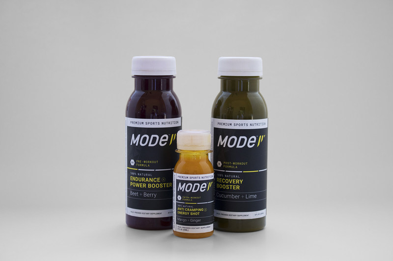 California-based MODe today launched a line of cold-pressed sports nutrition beverages targeted at increasing performance during each of the three workout modes: pre, intra, and post.