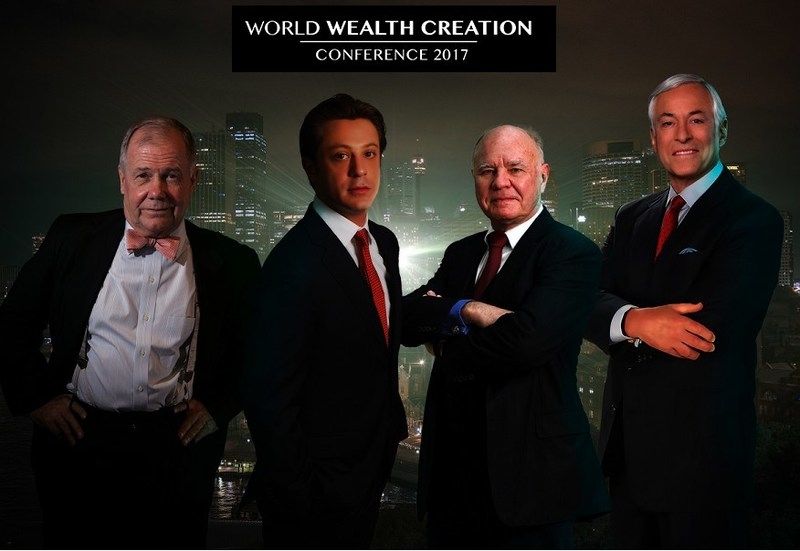 Anton Kreil Announced as Headline Speaker at Singapore's World Wealth Creation Conference alongside Jim Rogers, Marc Faber and Brian Tracy (PRNewsfoto/Institute of Trading and Portfol)