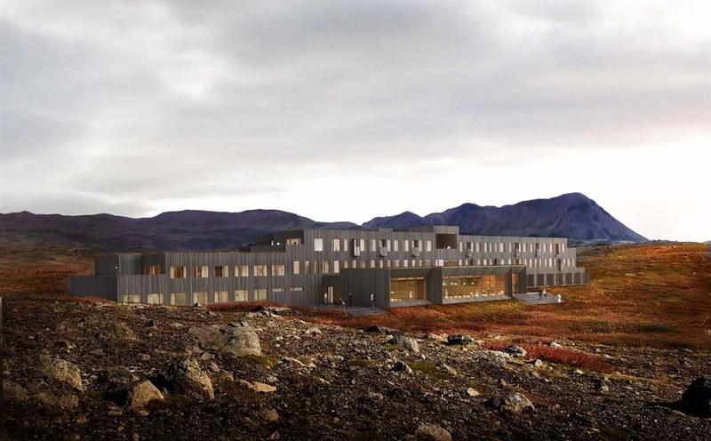 Fosshotel in Myvatn, Iceland