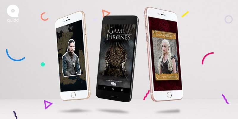 The official digital collection for the HBO series Game of Thrones. Only available on Quidd.