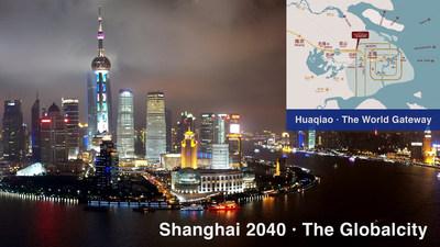 Shanghai 2040 A Cidade Global (PRNewsfoto/Kunshan Hetai Real Estate Co.,)