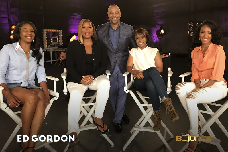 Ed Gordon hosts a star-packed special featuring interviews with the biggest African-Americans in movies, television and comedy world premiering on Mon. July 17 at 10:00 p.m. (ET) on Bounce.  In the celebrity-driven Ed Gordon special, the award-winning journalist interviews the stars of the upcoming summer comedy Girls Trip, Queen Latifah, Jada Pinkett Smith, Regina Hall and Tiffany Haddish, who discuss their careers and reflect on the contributions of black women in Hollywood today.
