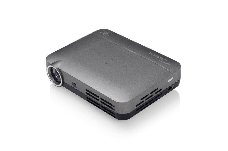The Optoma IntelliGO-S1 packs more entertainment in one small and affordable device than any mobile projector on the market