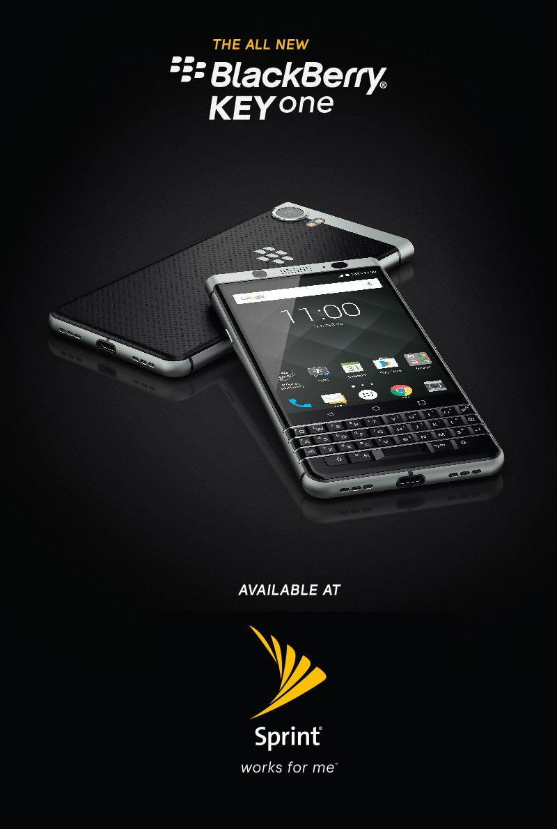 The all-new BlackBerry KEYone is officially on-sale at Sprint starting tomorrow – July 14
