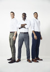 Banana Republic Men's Style Council debuts first ad campaign for Fall 2017 featuring the new Banana Republic Rapid Movement Chinos. (PRNewsfoto/Banana Republic)