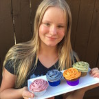 Thirteen-Year Old's Organic Cupcake Franchise Aimed at Healthier Eating & Raising Awareness Launches Kickstarter Campaign