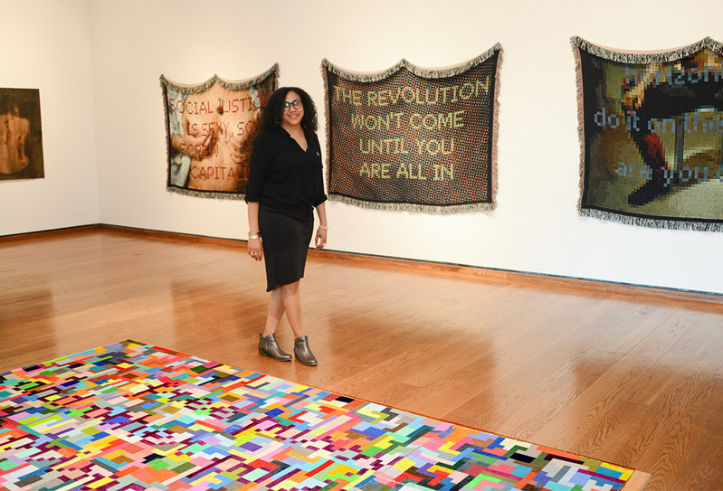 SALTQuarters artist-in-residence, Mildred Beltré is a multi-disciplinary artist interested in grassroots, social justice political movements, their associated participants, structures, and how those ideas affect social relations.