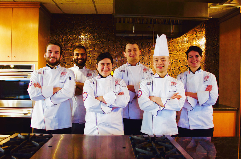 A team of students from Kendall College School of Culinary Arts in Chicago captured the first place title in the 2017 National Baron H. Galand Culinary Knowledge Bowl, which took place at the American Culinary Federation's (ACF) National Convention & Show in Orlando, on July 11. Since 2010, Kendall College teams have won the Knowledge Bowl competition four times. Pictured: Joshua Ludwig, Nikhil Bendre, Brandy Freberg, Benton Givens, Chef Wook Kang (Coach), Nelia Salvi (Assistant Coach).
