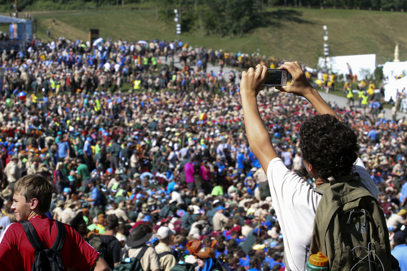 The more than 40,000 Boy Scouts, leaders and volunteers heading to the 2017 National Scout Jamboree can expect faster speeds and boosted reliability to share once-in-a-lifetime moments. (Boys Scouts of America photo)