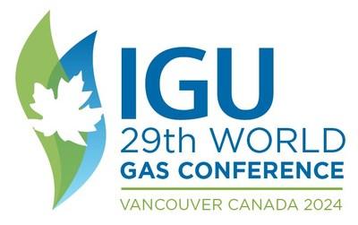Logo: IGU (CNW Group/Canadian Gas Association)