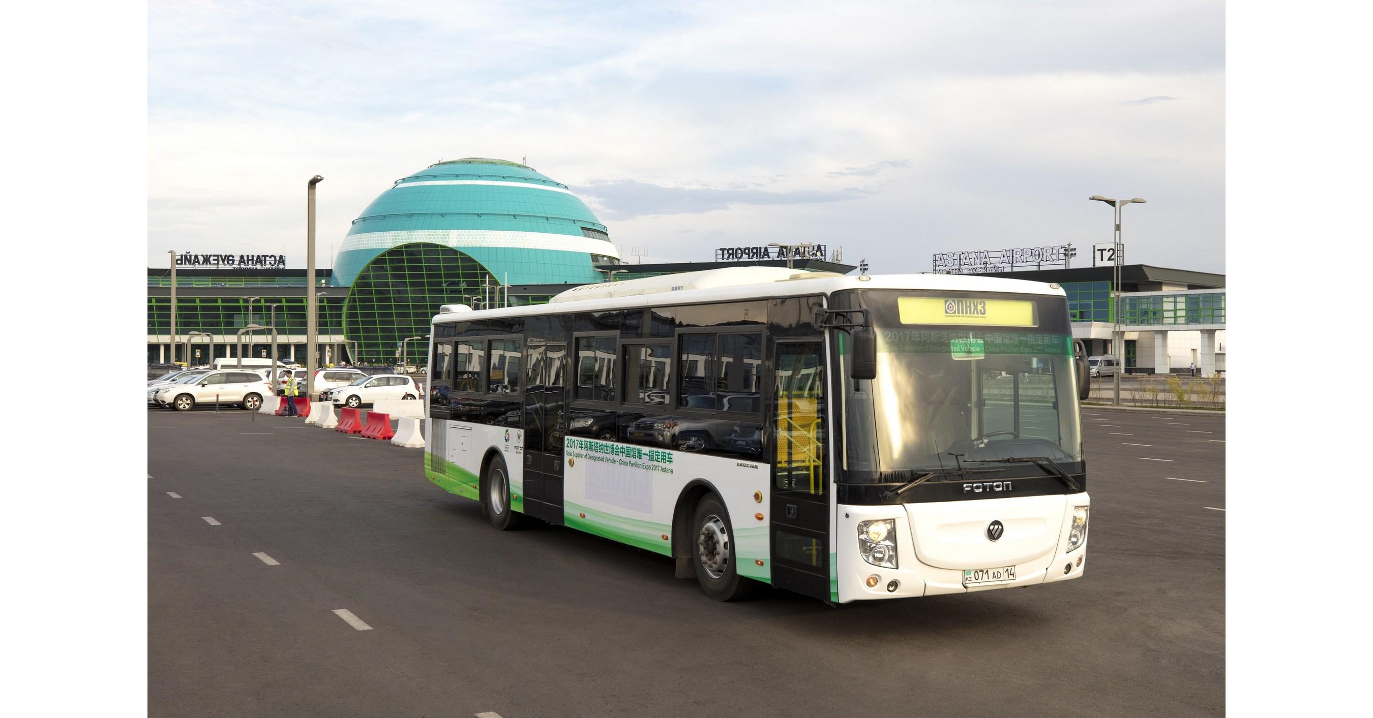 Expo 2017 Astana Foton Motor Escorts For China Pavilion Day