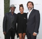 LOS ANGELES, CA - JULY 13:  (L-R) Actors Don Cheadle, Halle Berry and Javier Bardem at The Chivas Venture $1m Global Startup Competition at LADC Studios on July 13, 2017 in Los Angeles, California.  (Photo by Christopher Polk/Getty Images for Chivas Regal) (PRNewsfoto/Chivas Venture)