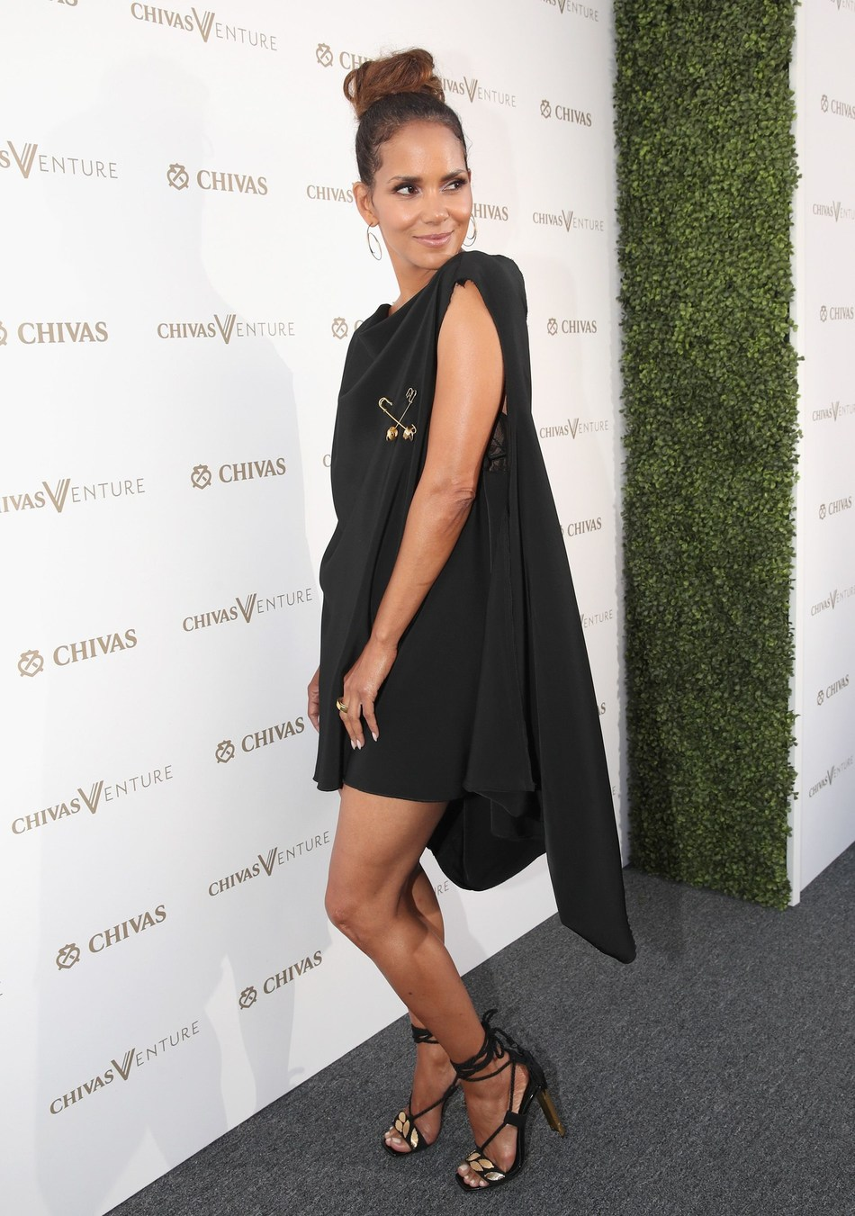 LOS ANGELES, CA - JULY 13:  Actor Halle Berry at The Chivas Venture $1m Global Startup Competition at LADC Studios on July 13, 2017 in Los Angeles, California.  (Photo by Christopher Polk/Getty Images for Chivas Regal) (PRNewsfoto/Chivas Venture)