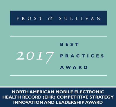 Frost & Sullivan recognizes CORAnet with the 2017 North American Competitive Strategy Innovation and Leadership Award.