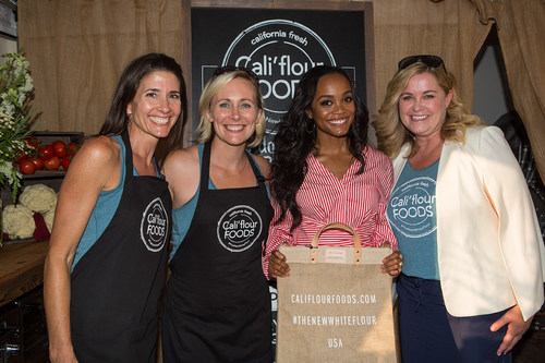 Cali'Flour Foods Serves Up Their Cauliflower Pizza Crusts to World's Best Athletes and Celebrities at GBK Pre-ESPYS 2017 Party