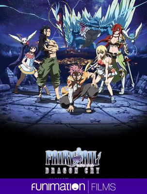 Fairy Tail: Dragon Cry key art image. Courtesy Funimation Films.