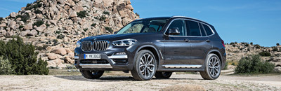 The redesigned 2018 BMW X3 compact luxury SUV has a striking and dynamic design, a powerful and efficient drive system and world-class luxury and refinement.