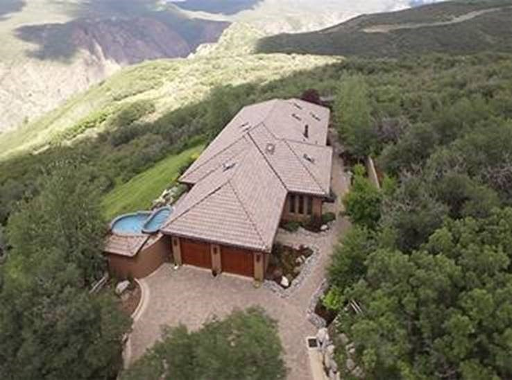 33 acres inside National Park released for sale. The home was designed by Arizona architect Michael C. Daily as a single-story structure with southwestern Santa Fe style architecture