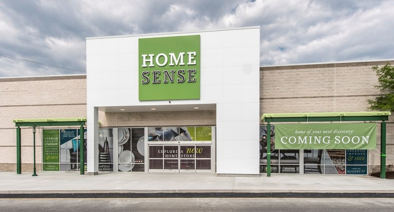 The first Homesense store will open on August 17 in Shoppers World in Framingham, MA.