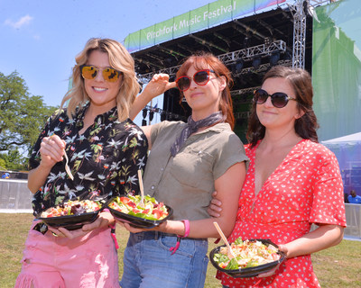 Wendy's Treats Pitchfork Music Festival Fans to a Re-Freshing Experience