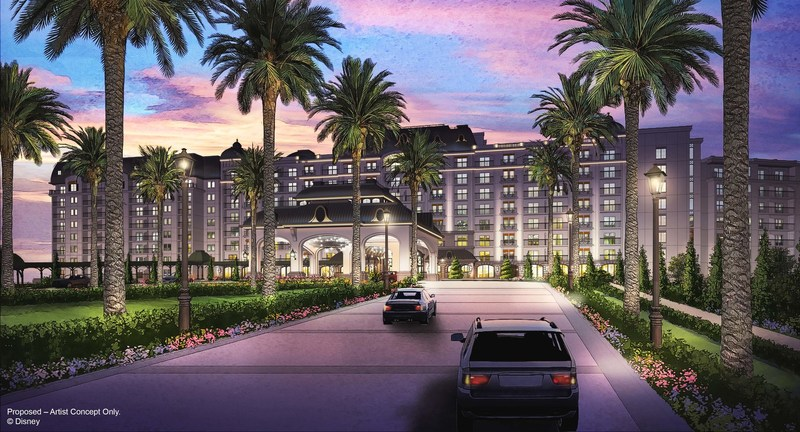 The next planned development for Disney Vacation Club will be an entirely new resort called Disney Riviera Resort. Estimated to open in fall 2019, this new resort experience is slated to be the 15th Disney Vacation Club property with approximately 300 units spread across a variety of accommodation types. A new skyway transportation system will connect the new resort to other areas on Walt Disney World property. (Proposed – Artist Concept Only, © Disney)