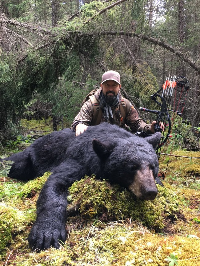 Check out this monster bear Rick Kreuter shot in Canada with the Veteran Broadhead.