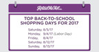 Retailers Plan to Offer More Promotions for the 2017 Back-to-School Season, Giving Shoppers What They Want
