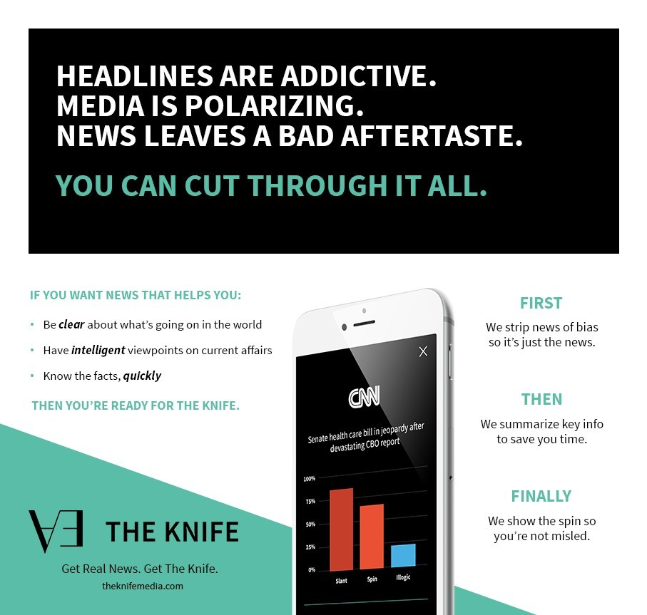 The Knife Media utilizes a proprietary analysis and rating system with rigorous scientific standards, without corporate influence or advertisers, for greater accountability to readers.