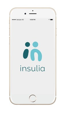 The Insulia patient app is available on iOS and Android devices.