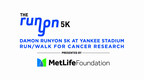 Over $350,000 Raised at 9th Annual Runyon 5K at Yankee Stadium