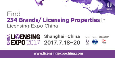 Licensing Expo China Debuts with over 230 Brands and Licensing Properties