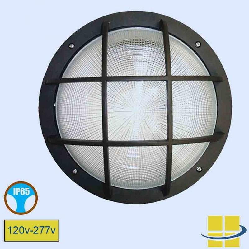 Round wall light latticed