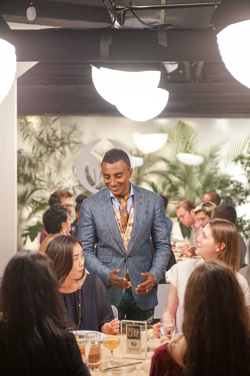 """Celebrity Chef Marcus Samuelsson Redefines Taste in the """"MasterCraft Series,"""" an Original Web Series from Pure Leaf Tea House Collection"""