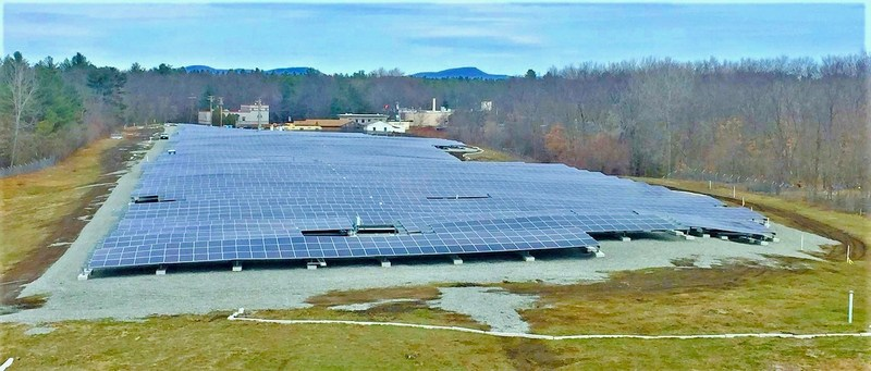 Chicopee Landfill now with Solar