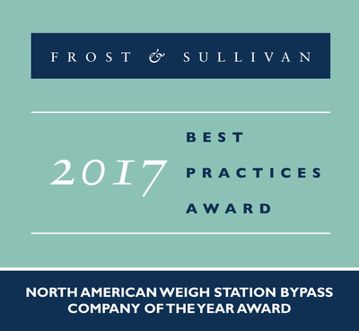 Frost & Sullivan Names Drivewyze Company of the Year