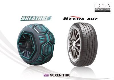 Nexen Tire remporte deux prix de conception IDEA