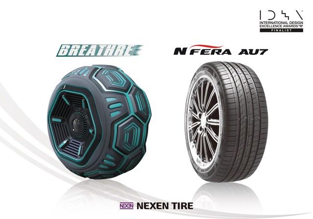 Nexen Tire gana dos premios al diseño de IDEA