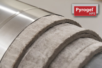 With its extremely low thermal conductivity at high temperatures, Pyrogel HPS based solutions can be up to 75% thinner than with competing insulation materials.