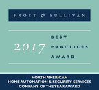 Frost & Sullivan Honors Comcast's Xfinity Home with Company of the Year Award