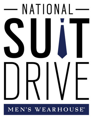 Men's Wearhouse National Suit Drive Logo