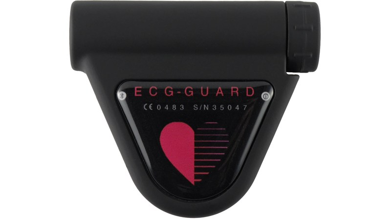Very small and light ECG Recorder, easily and fast to mount with standard electrodes or chest belt, maximum in users comfort, splash proofed