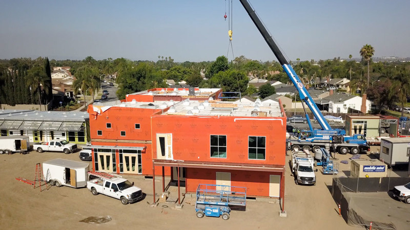 American Modular Systems Installs First Gen7 Two-Story& School at New Early Education School Educare Los Angeles at Long Beach
